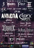 Amnega  + Codex Inferis + Apocryphe + In Death's Embrace
